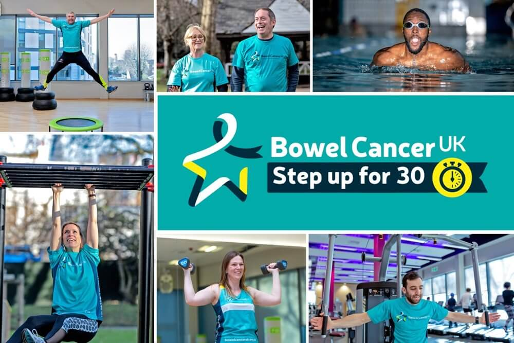 bowel cancer step up for 30