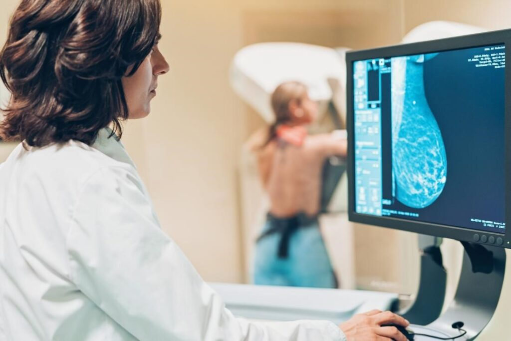 mammogram for breast cancer diagnosis